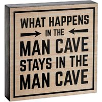 Mancave Rules Sign