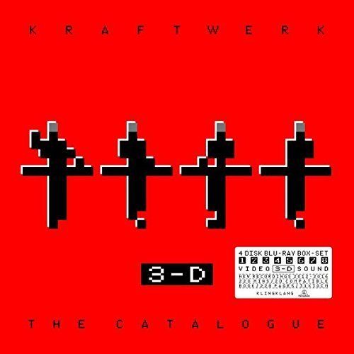 Kraftwerk - 3-D The Catalogue [Book Box Set] on DVD, Blu-ray, 3D Blu-ray