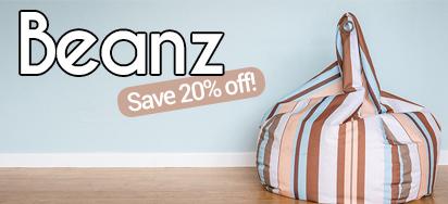 20% OFF Beanz Beanbags