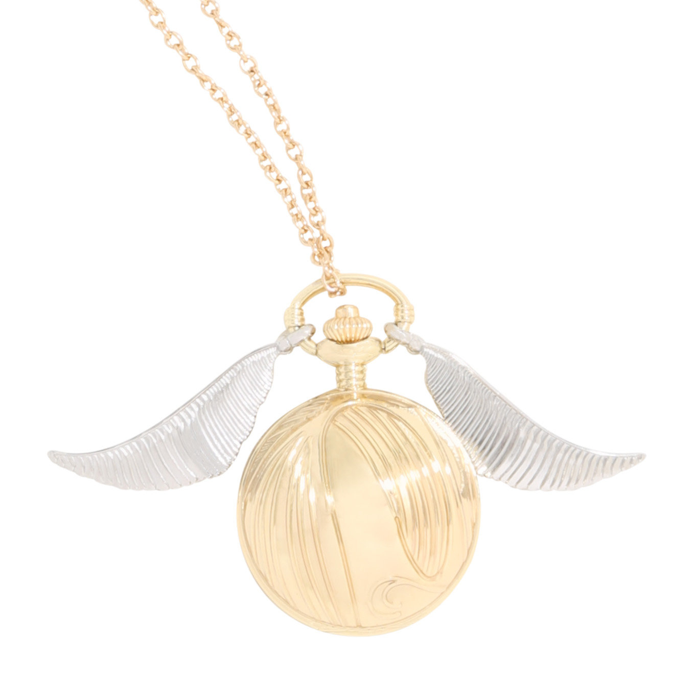 Harry Potter: Golden Snitch Pocket Watch Necklace image