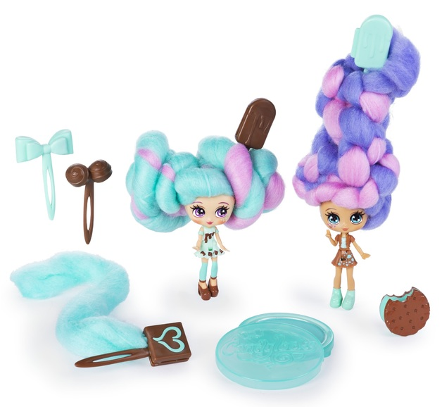 Candylocks: BFF Dolls 2-Pack - Mint Choco Chick & Choco Lisa