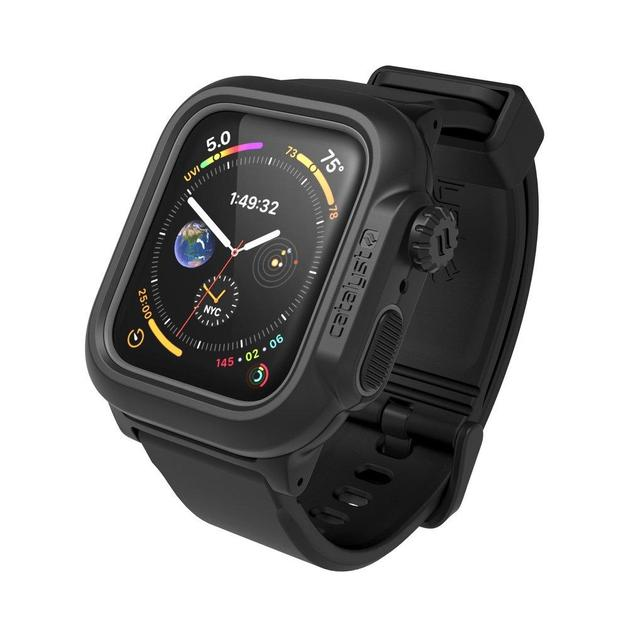 Catalyst: Waterproof Case for 44mm Apple Watch Series 5/4 (Stealth Black)