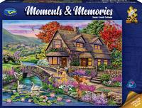 Holdson: 1000 Piece Puzzle - Moments & Memories S2 (Creek Cottage) image