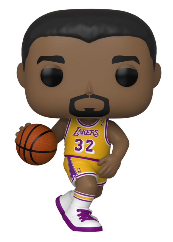 NBA Legends - Magic Johnson (Lakers Home) Pop! Vinyl Figure