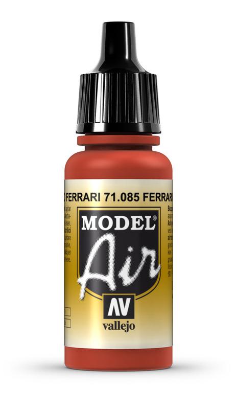 Vallejo: Model Air - Italian Red (17ml)