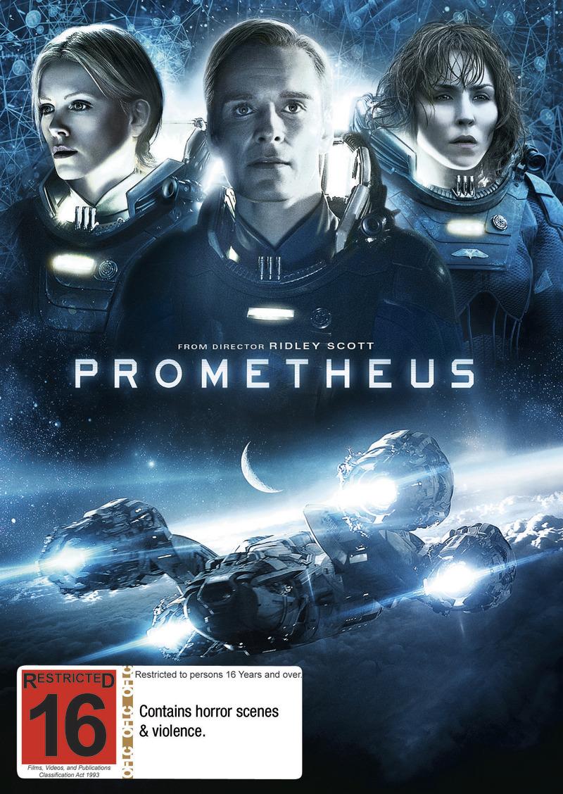 Prometheus on DVD image