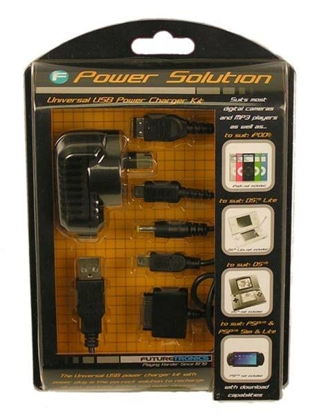 Futuretronics Universal AC Adaptor with 5 in 1 cable for PSP