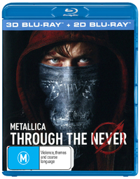 Metallica: Through The Never on Blu-ray, 3D Blu-ray
