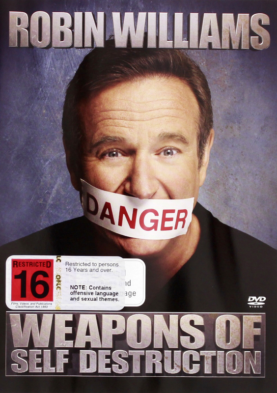 Robin Williams - Weapons of Self Destruction on DVD