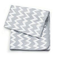 Waterproof Splat Mat - Grey Chevron