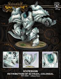 Warmachine: Retribution of Scyrah - Hyperion of Scyrah Colossal