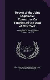 Report of the Joint Legislative Committee on Taxation of the State of New York image