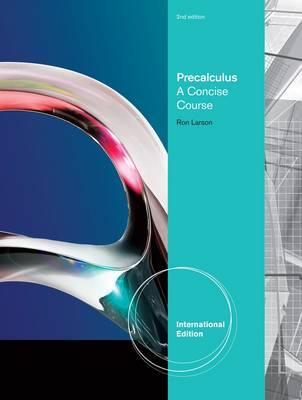 Precalculus by Ron Larson image