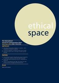 Ethical Space Vol.9 Issue 4