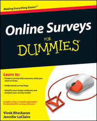 Online Surveys For Dummies by Vivek Bhaskaran image