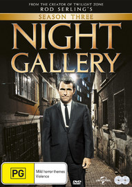 Night Gallery - Season Three on DVD