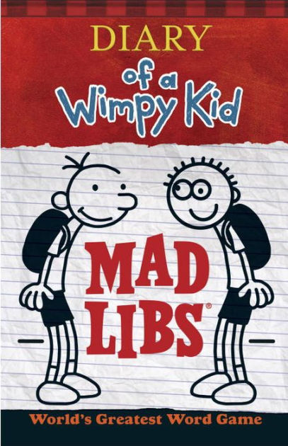 Diary of a Wimpy Kid Mad Libs by Mad Libs image