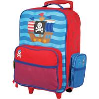 Stephen Joseph Rolling Luggage - Pirate