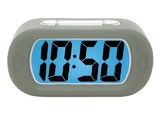 Karlsson Alarm Clock - Gummy (Dark Grey)