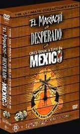 Robert Rodriguez Collector's Pack - El Mariachi/Desperado/Once Upon A Time In Mexico (2 Disc Set) on DVD