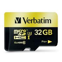 Verbatim Pro+ Micro SDHC Card - 32GB (UHS-I Class 10) image