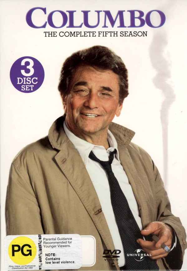Columbo - Complete Season 5 (3 Disc Set) on DVD image