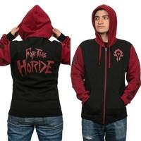 World of Warcraft Horde Pride Zip-Up Hoodie (XL)