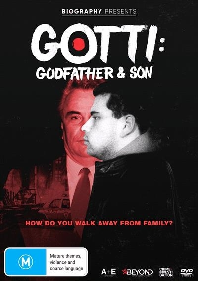 Gotti: Godfather and Son on DVD image