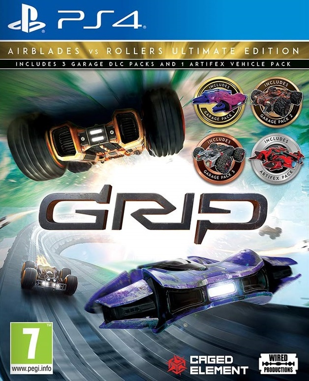 GRIP: Combat Racing - Rollers vs Airblades Ultimate Edition for PS4