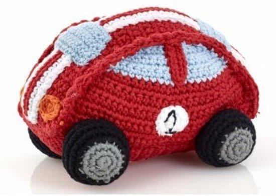 Pebble: Crochet Racing Car