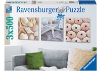 Ravensburger 3x500 Piece Jigsaw Puzzle - Maritime Impressions
