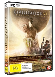 Sid Meier's Civilization VI Deluxe Edition for PC Games