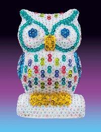 3D Sequin Art - Owl image