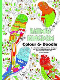 Adult Colouring Animal Kingdom image