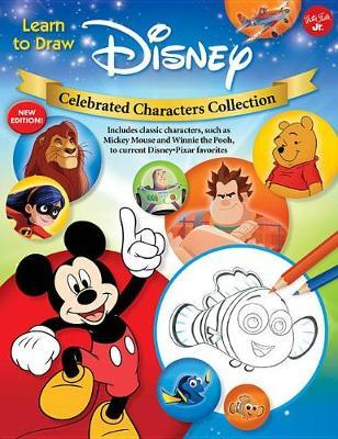 Learn to Draw Disney Celebrated Characters Collection by Walter Foster Jr Creative Team