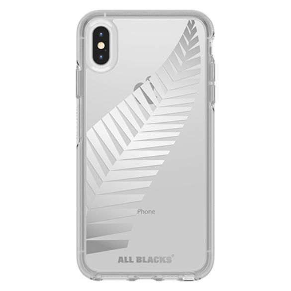 Otterbox: All Blacks Symmetry for iPhone Xs Max - Clear