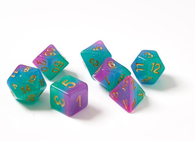 Sirius Dice Northern Lights Polyhedral Dice Set
