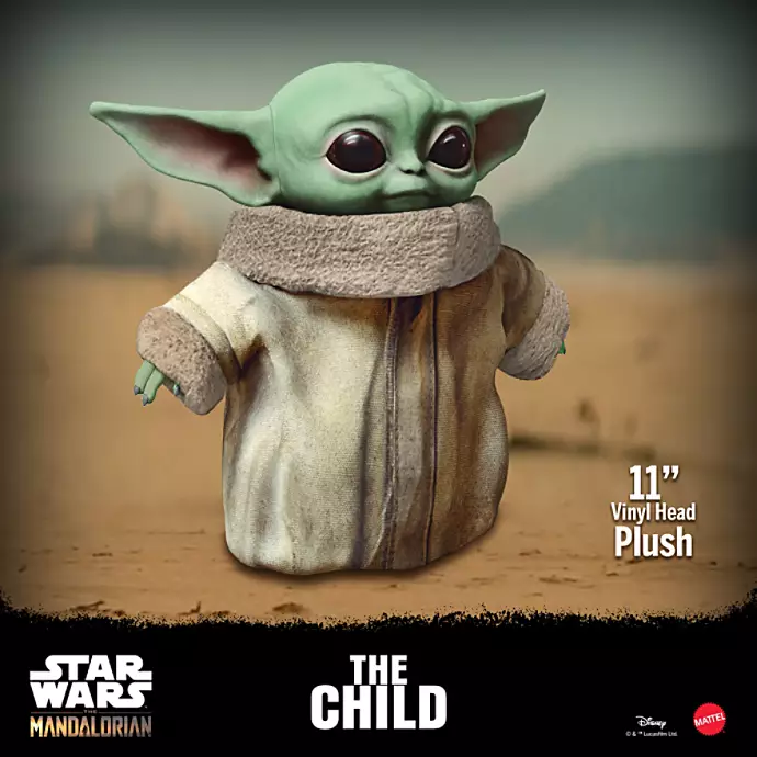 Star Wars: The Mandalorian - The Child Plush image