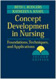 Concept Development in Nursing by Beth L. Rodgers