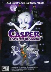 Casper A Spirited Beginning on DVD