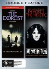 Exorcist / Exorcist II: The Heretic - Double Feature (2 Disc Set) on DVD