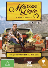Mexican Fiesta with Peter Kuruvita on DVD
