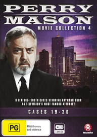 Perry Mason Movie Collection Four: Cases 19-26 on DVD