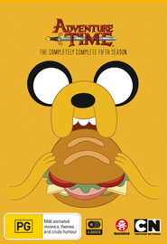 Adventure Time - The Completely Complete Fifth Season on DVD