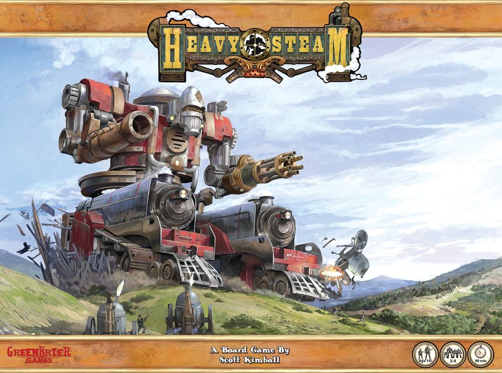 Heavy Steam - Board Game image