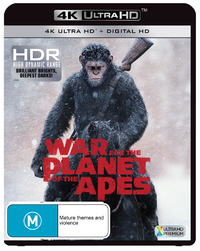 War For The Planet Of The Apes on UHD Blu-ray image