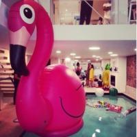 BigMouth Inc: Gigantic 10 Foot Flamingo image