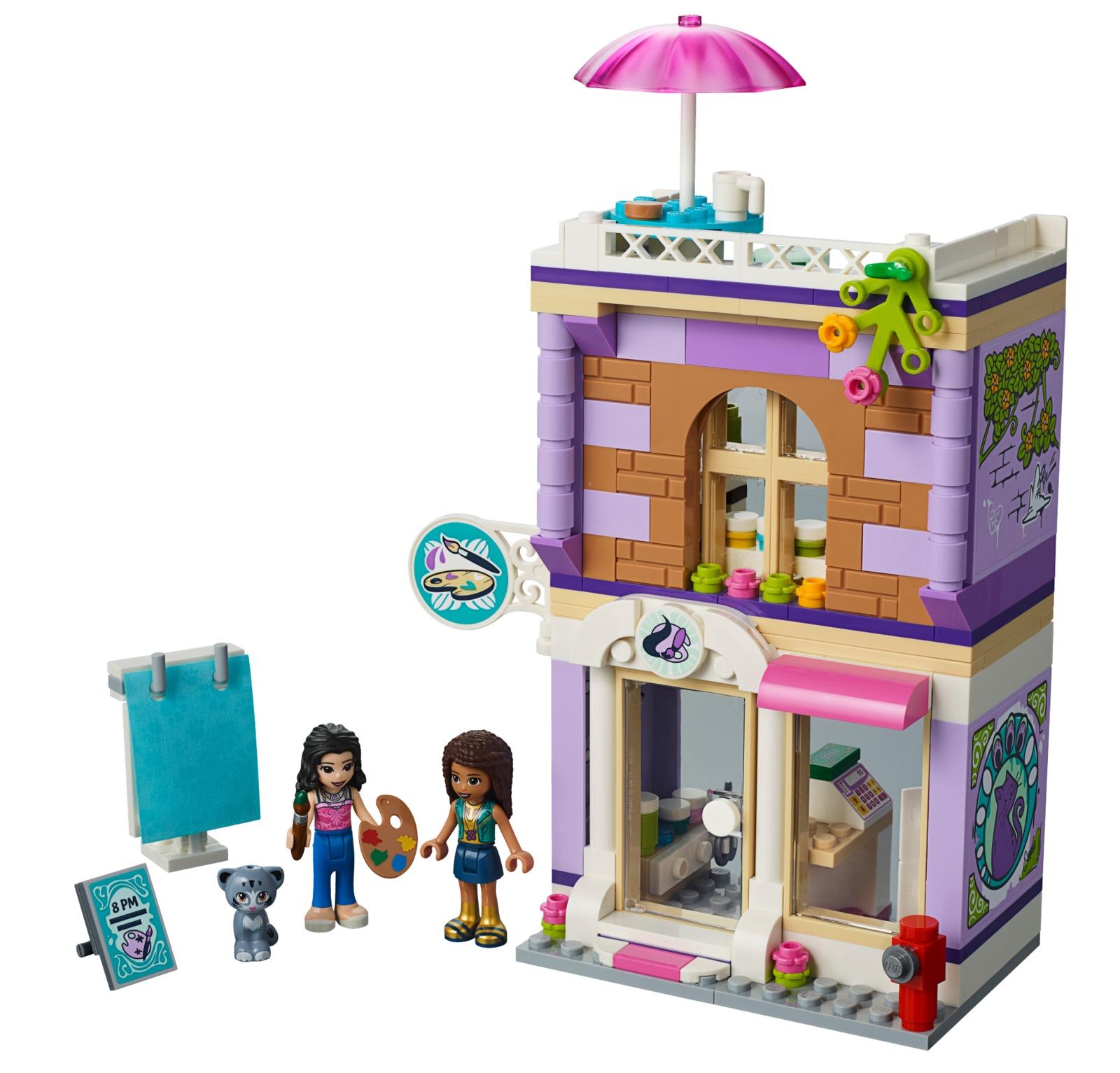 Lego Friends Emmas Art Studio Toy At Mighty Ape Nz