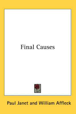 Final Causes by Paul Janet image
