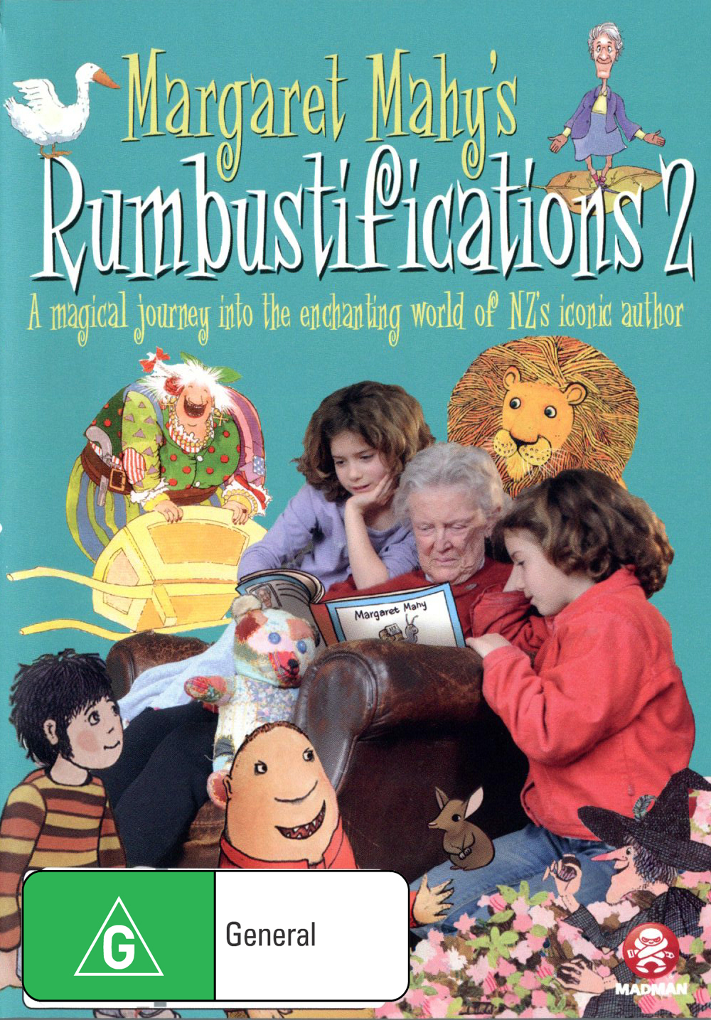 Margaret Mahy's Rumbustifications 2 on DVD image